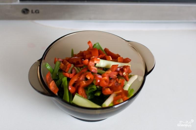 Мясо по-монгольски - фото шаг 4
