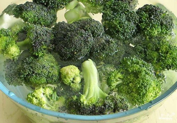 Крем-суп из брокколи диетический - фото шаг 1