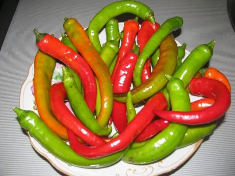 Рецепт Острый перец, маринованный на зиму