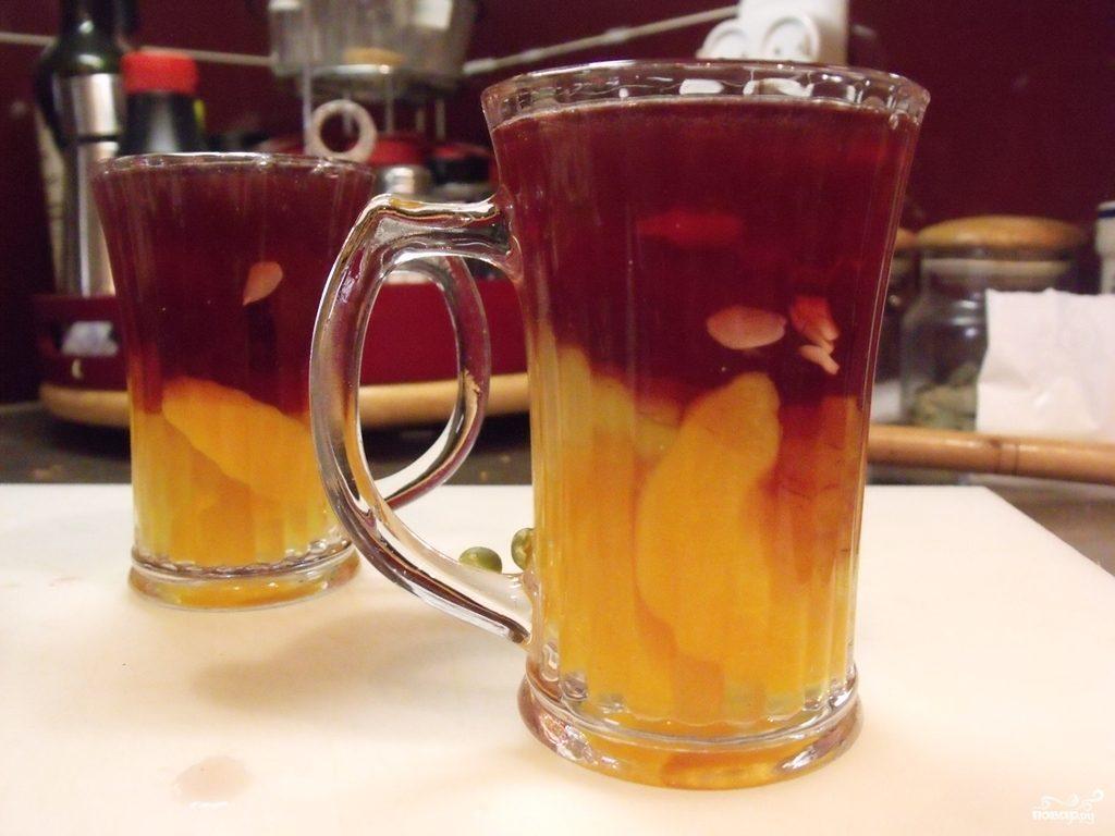 Желе из консервированных персиков