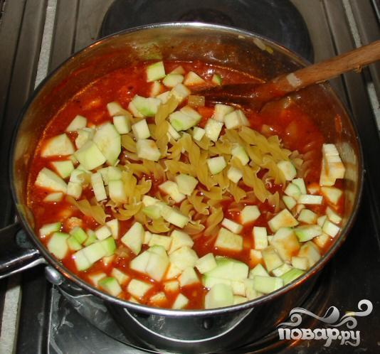 Куриный суп с вермишелью по-итальянски - фото шаг 5
