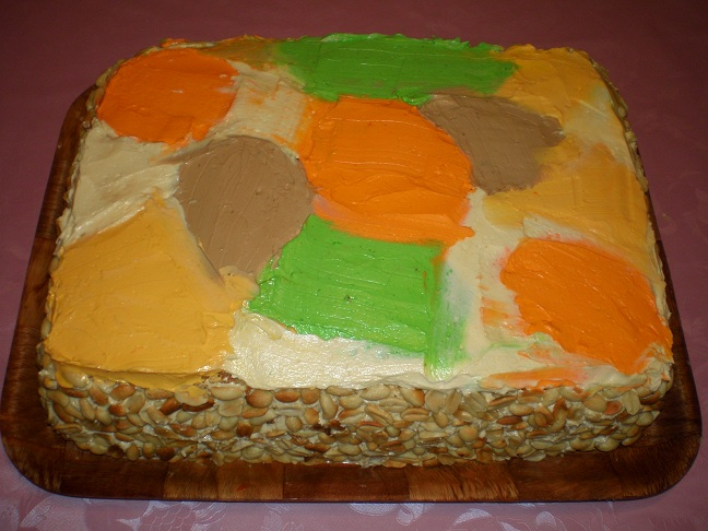Фото торта листопад