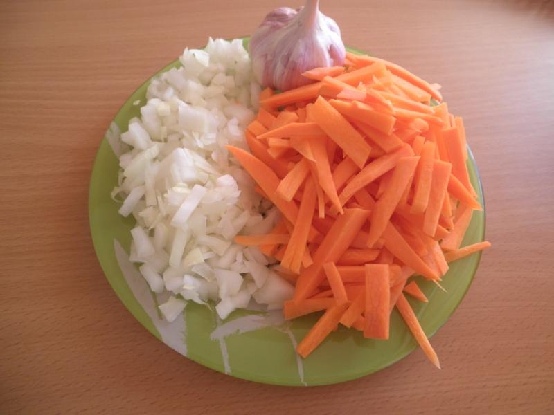 Рецепт Поджарка из свинины в мультиварке