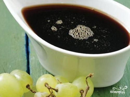 Рецепт Виноградный сироп