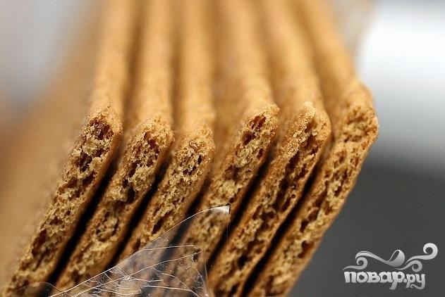 Пирожные с шоколадом, сгущенкой и орехами - фото шаг 1