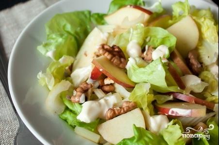 Вальдорфский салат