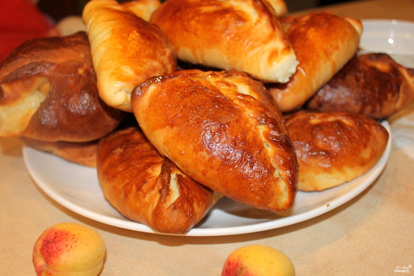 Пирожки с картошкой в духовке на молоке пошаговый рецепт