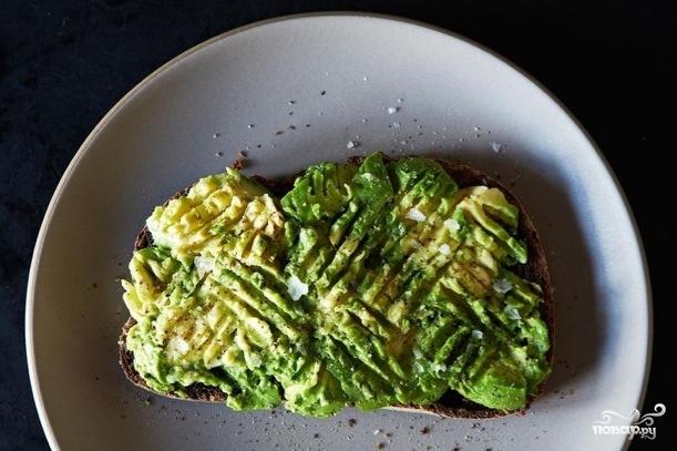 Рецепт Тосты с авокадо