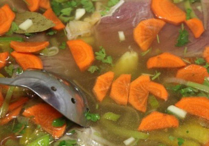 Картофельный суп с говядиной   - фото шаг 9