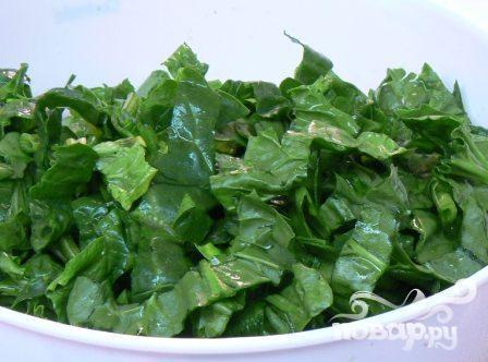Салат Джемми из шпината и клюквы - фото шаг 2