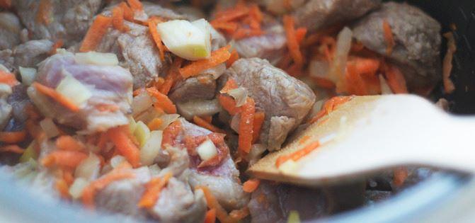 Гречневый суп в мультиварке - фото шаг 3