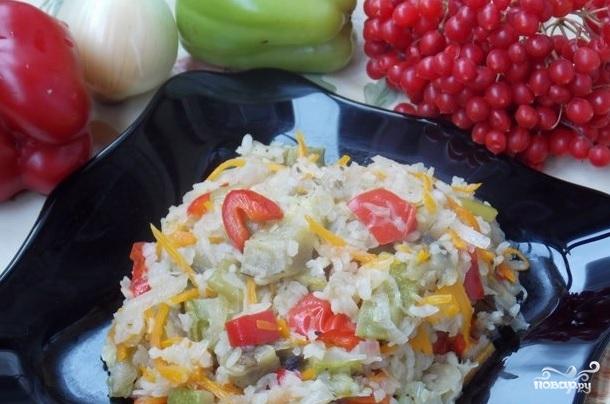 Овощное рагу с рисом - фото шаг 6