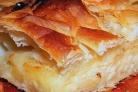 Простой хачапури с сыром в духовке