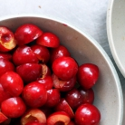 Рецепт Перевернутый вишневый пирог
