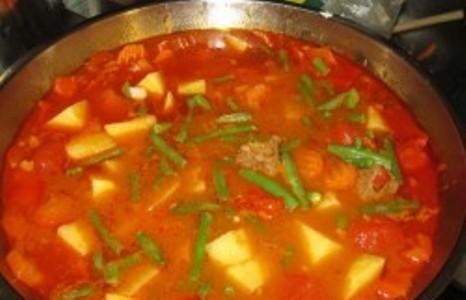 Венгерский суп в хлебе - фото шаг 3