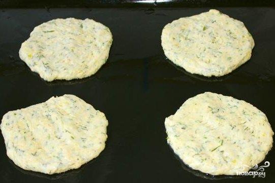 Картофельные лепешки в духовке - фото шаг 6