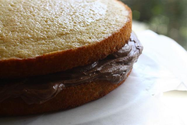 Торт с шоколадным кремом - фото шаг 7