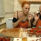 Рецепт Клубничный микс Приворот