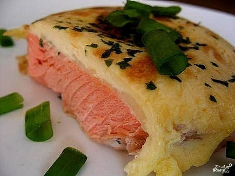 Рецепт Горбуша на сковороде