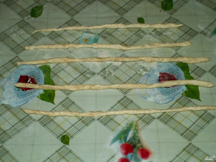 Банановый пирог из слоеного теста - фото шаг 3