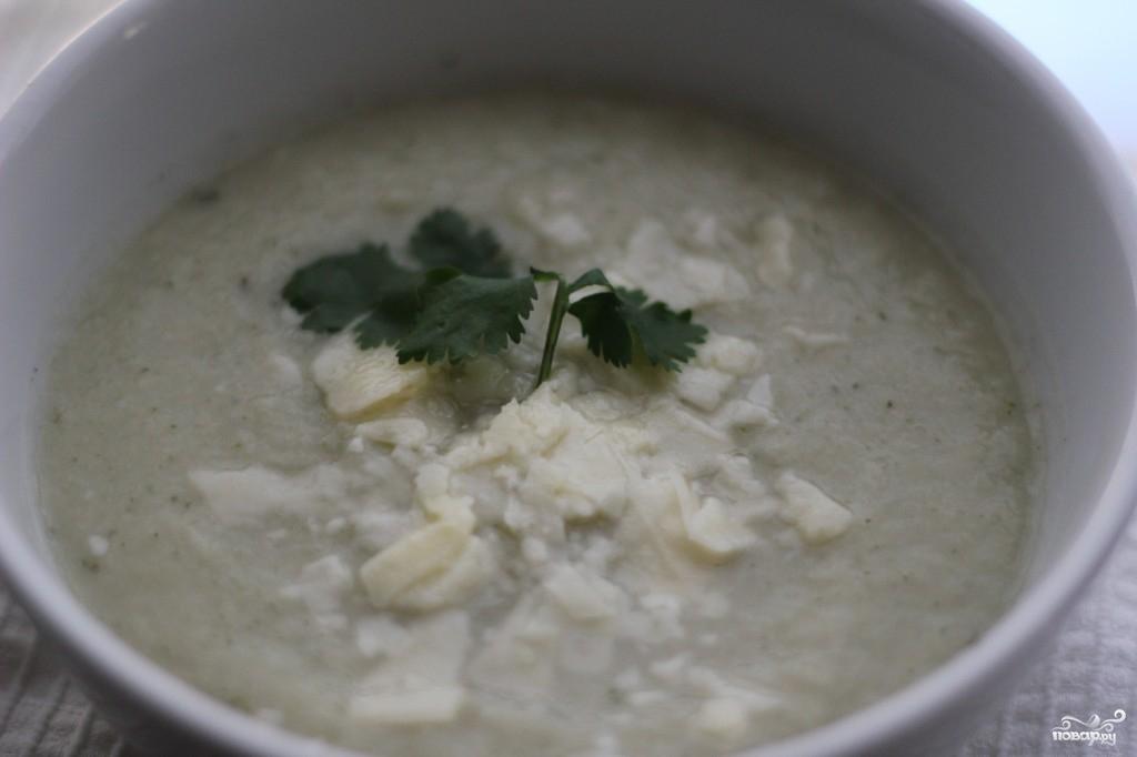Суп-пюре из цветной капусты диетический