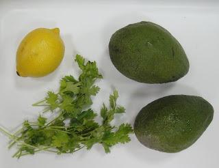 Рецепт Гуакамоле с кинзой