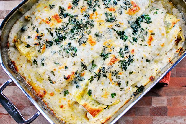 Лазанья с творогом и сыром - фото шаг 13