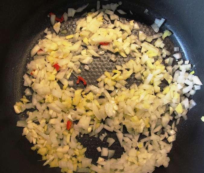 Курица карри с рисом - фото шаг 3