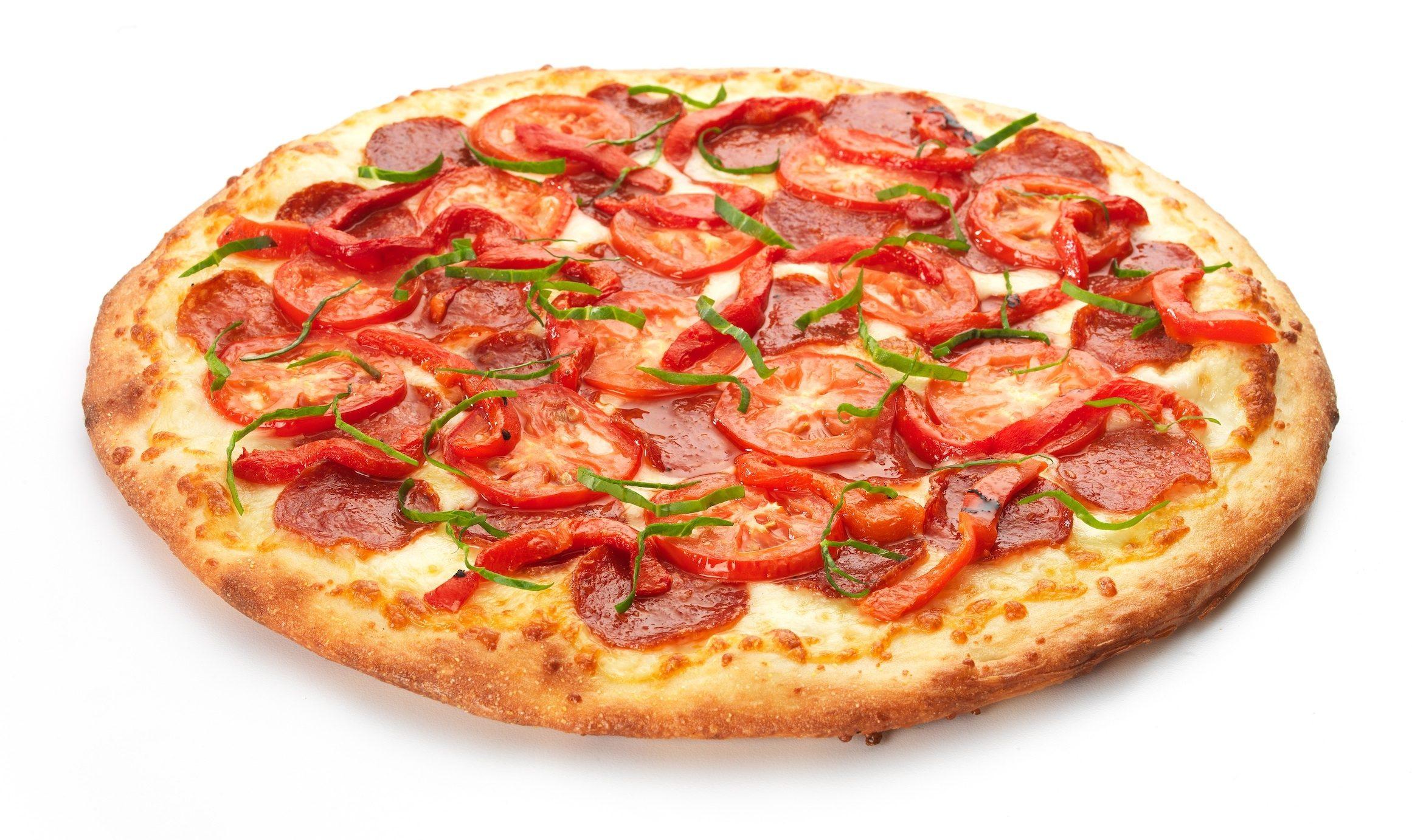 Рецепт Пицца с копченой колбасой