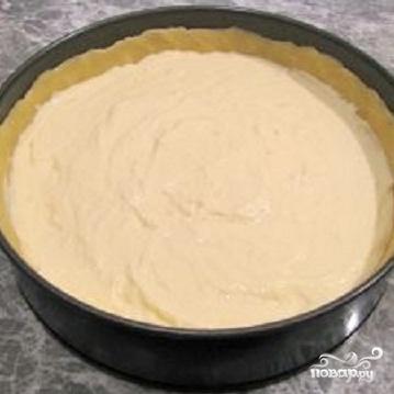 Творожный пирог с черникой - фото шаг 3