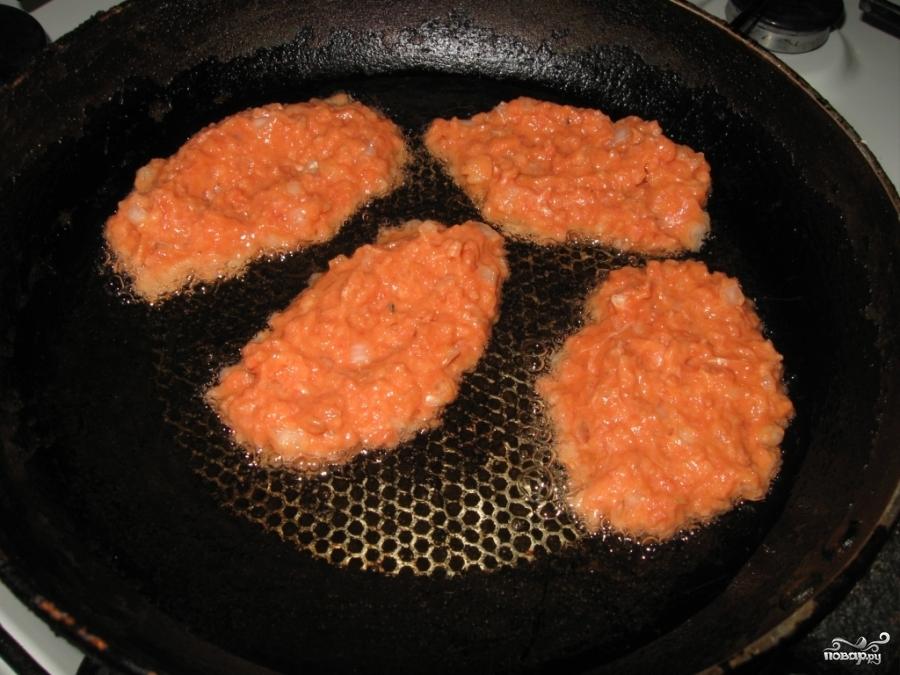 котлеты из рыбного фарша пошаговый рецепт с фото