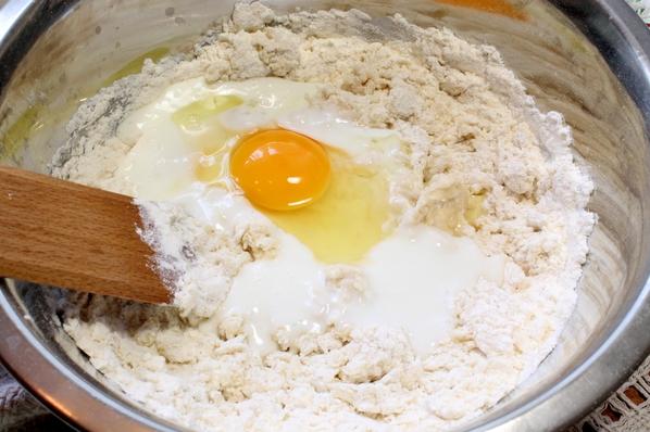 Рецепт Осетинский пирог с грибами и сыром