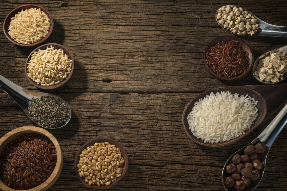 Зерновые:рис, пшено