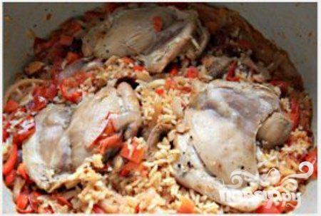 Курица с чипотл и рисом - фото шаг 4