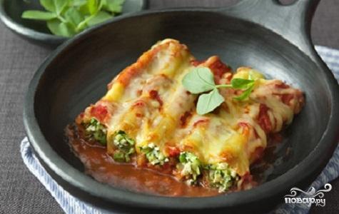Рецепт Каннеллони на сковороде
