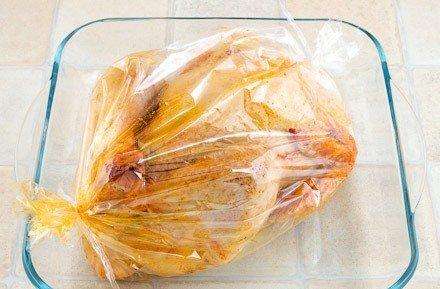 Курица, фаршированная грибами и рисом - фото шаг 11