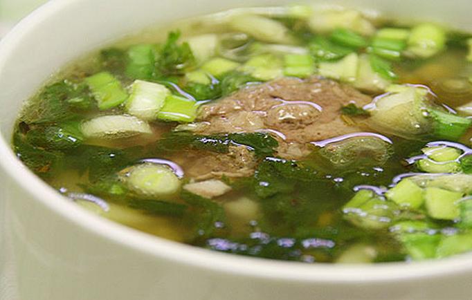 Гороховый суп с тушенкой - фото шаг 4