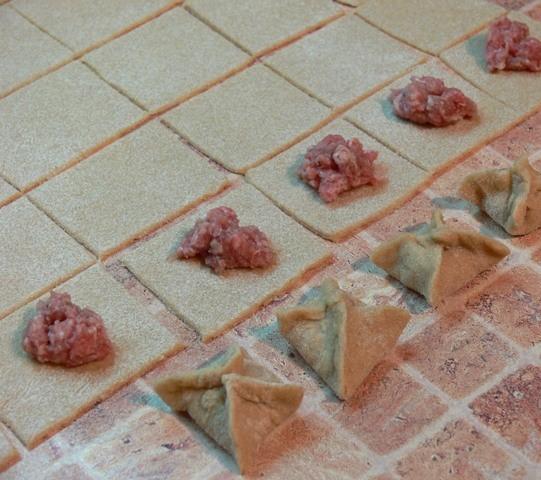 Манты в духовке - фото шаг 2
