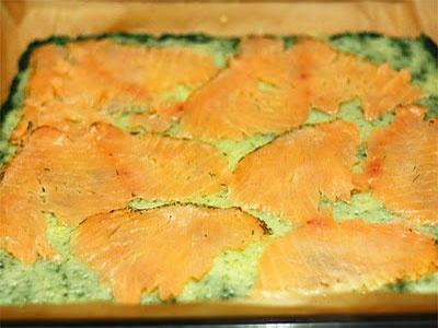 Рыба, запеченная со шпинатом - фото шаг 9