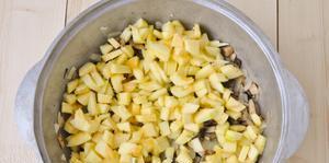 Лазанья с ветчиной и сыром - фото шаг 3