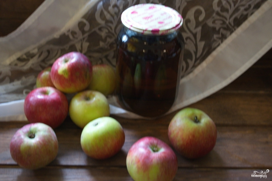 Яблочный сок на зиму через соковыжималку - фото шаг 6