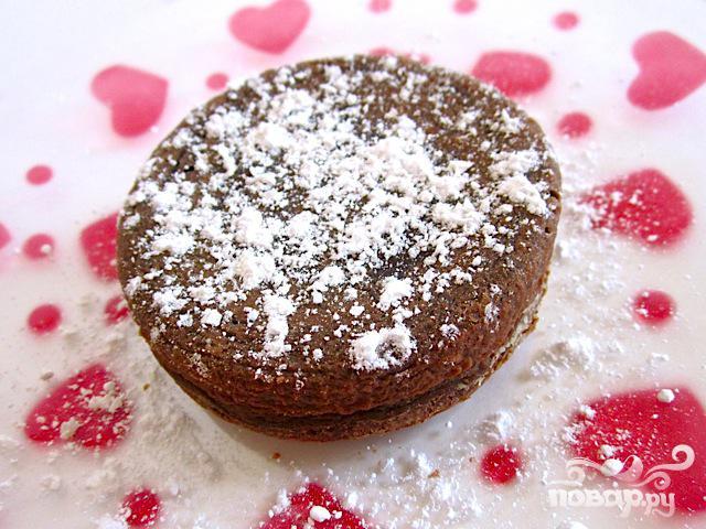 """Шоколадный десерт """"Для двоих"""" - фото шаг 5"""
