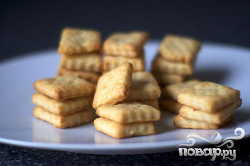 Крекеры с сыром Пармезан - фото шаг 5
