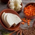 Рецепт Гречка с овощами и сыром в горшочке