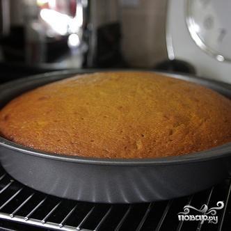 Тыквенный пирог с кремом из коричневого масла - фото шаг 5
