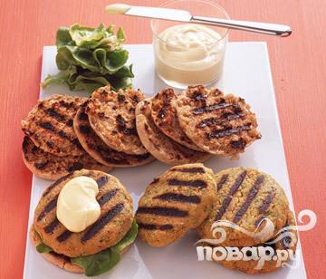 Рецепт Бургер с бараньим горохом