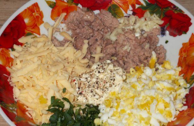 Салат из печени и сыра - фото шаг 5