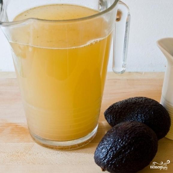 Суп с авокадо - фото шаг 1