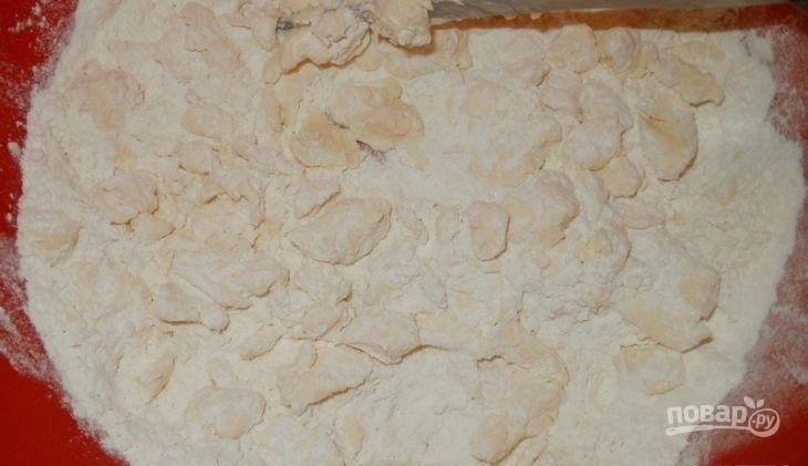 Коктейльное печенье с сыром - фото шаг 2