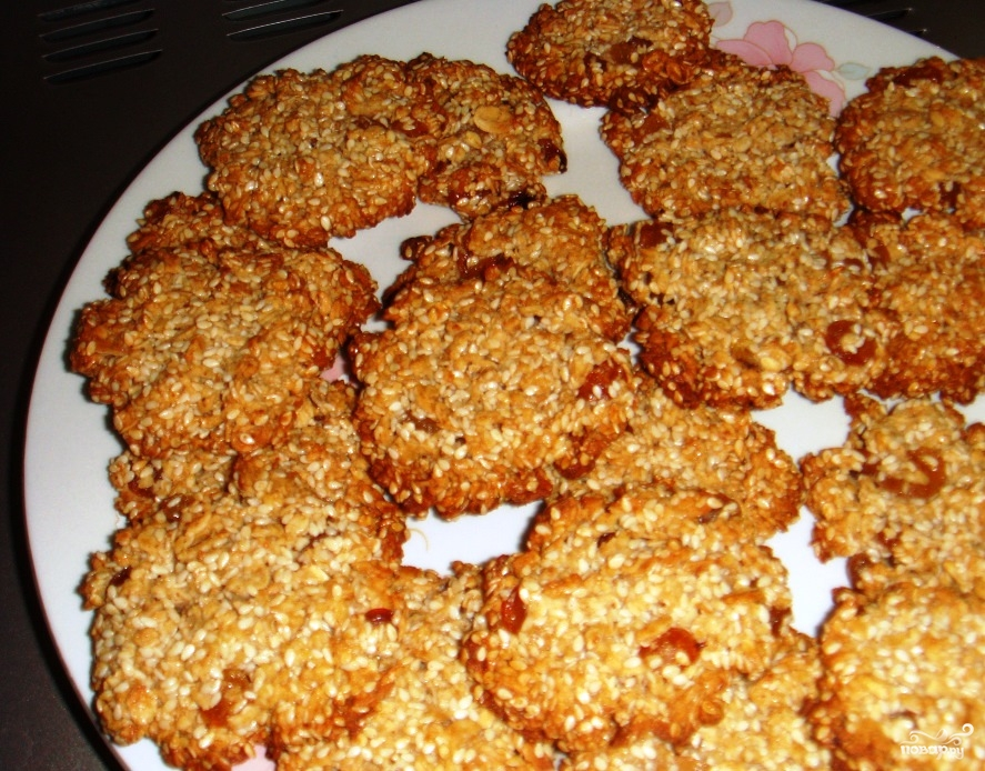 Печенье с грецким орехом - фото шаг 4